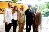 Alex Rodriguez Photo - Co-Chair of CoConut merchant group Stephen Licata Daisy Lewis City Miami Mayor Tomas Regalado Vanilla Ice and Alex Rodriguez attend a press conference for the third Annual The Great Grove Bed Race held Coconut Grove in the Peacock Garden Cafe Miami FL 30th August 2011