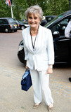 Angela Rippon Photo - Angela Rippon at Buckingham Palace on the day before the royal wedding London UK 42811