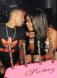 Angela Simmons Photo - On again off again ex boyfriend Bow Wow is seen talking up MTVs Runs House star Angela Simmons at her her birthday celebration held at Club Play in Miami Beach FL 17th September 2011