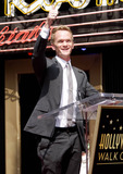 The Ceremonies Photo - Actor Neil Patrick Harris at the ceremony to reveal his star on the Hollywood Walk Of Fame in Hollywood CA 15th September 2011