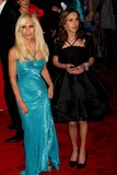 Allegra Beck Photo - Donatella Versace and Daughter Allegra Beck Arriving at the Costume Institute Gala Benefit Celebrating the Model As Muse Embodying Fashion at the Metropolitan Museum of Art in New York City on 05-04-2009 Photo by Henry Mcgee-Globe Photos Inc 2009