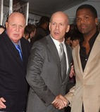 AJ Calloway Photo - New York NY 02-22-2010Bruce Willis with his publicist Paul Bloch and Extras AJ Calloway at the world premiere of COP OUT at AMC Loews Lincoln SquareDigital photo by Lane Ericcson-PHOTOlinknet