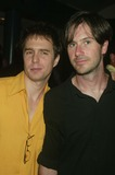 Josh Hamilton Photo - Sam Rockwell and Josh Hamilton at the Screening of the Secret Lives of Dentists at the Walter Reade Theater at Lincoln Center in New York City on July 29 2003 Photo Henry McgeeGlobe Photos Inc 2003