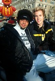 Ashley Angel Photo -  112201 the 75th Annual Macys Thanksgiving Day Parade in NYC Trevor Penick and Ashley Angel Photo by Henry McgeeGlobe Photos Inc