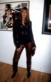 ANDREA SANDE Photo - Ronnie Woods 1st Formal Art Show Opening Pop International Gallery Photo by Henry McgeeGlobe Photos Inc 2002 Andrea Sande