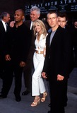 Alan Ruck Photo -  Abc Upfront 2001 at the New Amsterdam Theatre and After Party at Bryant Park 051501 Spin City Cast Photo by Henry McgeeGlobe Photos Inc