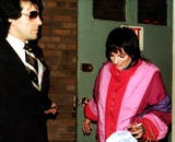 Beck Photo - Chuck Zito_liza Minnelli After Performance of the Rink at Martin Beck Theatrenyc Photo by Henry Mcgee Globe Photosinc 2