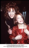 Andrea McArdle Photo -  a New Production of Annie Screening at the New Amsterdam Theatre in NYC 110199 Andrea Mcardle (Original Annie) with Alicia Morton (the New Annie) Photo by Henry McgeeGlobe Photos Inc