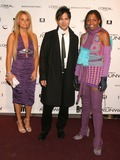 Alexandra Vidal Photo - New York NY  11-30-2004Alexandra Vidal Daniel Franco and Kara aka the Professional (Project Runway contestants)attends the party celebrating the launch of the new Bravo series Project Runway at PM LoungeDigital Photo by Lane Ericcson-PHOTOlinkorg