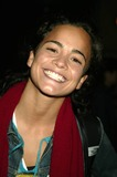 Alice Braga Photo - Alice Braga at Screening of the Station Agent at Walter Reade Theater Lincoln Center in New York City on September 30 2003 Photo Henry McgeeGlobe Photos Inc 2003