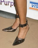 Renee Goldsberry Photo - NYC  120105Cast member Renee Elise Goldsberry shoes (plays Nettie) at the opening night party for the new musical THE COLOR PURPLE at the NY Public LibraryDigital Photo by Adam Nemser-PHOTOlinknet