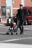 Jane Hawking Photo - Ethan Hawke daughter7555JPGNYC  101010EXCLUSIVE Ethan Hawke and daughter Clementine Jane Hawke (2 years old) walking home from a playground in the West VillageEXCLUSIVE photo by Adam Nemser-PHOTOlinknet