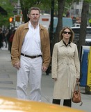 Howie Long Photo - NYC  050105EXCLUSIVE Howie Long and wife walking on Madison AvenueDigital Photo by Adam Nemser-PHOTOlinkorg