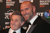Jonathan Davis Photo - May 08 2014 - London England UK - BT Sport Industry Awards 2014 Battersea Evolution Battersea Park London -  Arrivals Pictured Lawrence Dallaglio Jonathan Davies