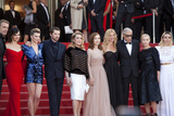 Lambert Wilson Photo - CANNES FRANCE - MAY 22 Lambert Wilson Juliette Binoche Celine Sallette Gregoire Leprince-Ringuet Catherine Deneuve Isabelle Huppert Sandrine Kiberlain Andre Techine Emmanuelle Beart Elodie Bouchez attend the The Killing Of A Sacred Deer screening during the 70th annual Cannes Film Festival at Palais des Festivals on May 22 2017 in Cannes France(Photo by Laurent KoffelImageCollectcom)