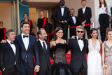 Javier Bardem Photo - CANNES FRANCE - MAY 8 Eduard Fernandez Javier Bardem Asghar Farhadi Penelope Cruz Ricardo Darin Sara Salamo Carla Campra attend the screening of Everybody Knows (Todos Lo Saben) and the opening gala during the 71st annual Cannes Film Festival at Palais des Festivals on May 8 2018 in Cannes France(Photo by Laurent KoffelImageCollectcom)