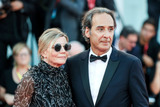 Alexandre Desplat Photo - VENICE ITALY - AUGUST 30 Dominique Lemonnier and Alexandre Desplat walk the red carpet ahead of the JAccuse (An Officer And A Spy) screening during the 76th Venice Film Festival at Sala Grande on August 30 2019 in Venice Italy(Photo by Laurent KoffelImageCollectcom)