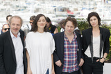 Arnaud Desplechin Photo - CANNES FRANCE - MAY 17 Director Arnaud Desplechin actress Marion Cotillard actor Mathieu Amalric and Charlotte Gainsbourg attends the Ismaels Ghosts (Les Fantomes dIsmael) photocall during the 70th annual Cannes Film Festival at Palais des Festivals on May 17 2017 in Cannes France(Photo by Laurent KoffelImageCollectcom)