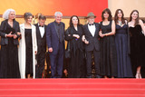 Claude Lelouche Photo - CANNES FRANCE - MAY 18 (2L-R) Souad Amidou Antoine Sire Claude Lelouch Anouk Aimee Jean-Louis Trintignant Marianne Denicourt Monica Bellucci and Tess Lauvergne attend the screening of Les Plus Belles Annees DUne Vie during the 72nd annual Cannes Film Festival on May 18 2019 in Cannes France(Photo by Laurent KoffelImageCollectcom)
