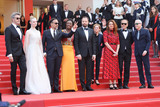 Yorgos Lanthimos Photo - CANNES FRANCE - MAY 25 (L-R) Jury Members of the main competition Pawel Pawlikowski Elle Fanning Alejandro Gonzalez Inarritu Maimouna NDiaye Yorgos Lanthimos Kelly Reichardt Robin Campillo Alice Rohrwacher and Enki Bilal attend the closing ceremony screening of The Specials during the 72nd annual Cannes Film Festival on May 25 2019 in Cannes France(Photo by Laurent KoffelImageCollectcom)