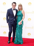 Anne Brown Photo - Ty Burrell and Holly Anne Brown at the 66th Annual Primetime Emmy Awards held at the Nokia Theatre LA Live in Los Angeles on August 25 2014 in Los Angeles California Credit PopularImages