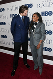 Ansel Elgort Photo - NEW YORK - OCT 23 Ansel Elgort (L) and June Ambrose attend HBOs Very Ralph World premiere at the Metropolitan Museum of Art on October 23 2019 in New York City