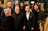 Taking Back Sunday Photo - WESTBURY NY - NOV 8 Singer Billy Joel and members of Taking Back Sunday attend the 2018 Long Island Music Hall of Fame induction ceremony at The Space at Westbury on November 8 2018 in Westbury New York