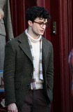 Allen Ginsberg Photo - March 19 2012 New York CityActor Daniel Radcliffe plays Beat Poet Allen Ginsberg on the Brooklyn set of the new movie Kill Your Darlings on March 19 2012 in New York City