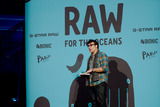 David LaChapelle Photo - February 8 2014 New York CityPharrell Williams Announces RAW for the Oceans Collaboration with G-Star RAW  Bionic Yarn onFebruary 08 2014 at Museum of Natural History in New York  NY