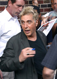 Al Pacino Photo - Do you know why they call him Crazy Al We dont Al Pacino at the Ed Sullivan Theater to make an appearance on the Late Show With David Letterman to promote his latest flick Simone The movie is about a producer who creates a digital actress -- something that might invade filmmaking in the nearest future New York August 21 2002