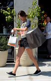 Alessandra Ambrossio Photo - June 21 2016 LAModel Alessandra Ambrosio wears an ACDC shirt and short shorts as she goes shopping on June 21 2016 in LABy Line SolarACE PicturesACE Pictures IncTel 6467670430
