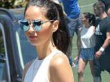 Aaron Rodgers Photo - Actress Olivia Munn visits her boyfriend Aaron Rodgers on set of a commercial filming in Los Angeles California Afterwards The X-Men actress visited Bristol Farms to go grocery shoppingFeaturing Olivia MunnWhere Los Angeles California United StatesWhen 16 Jul 2016Credit CousartJFXimagesWENNcomNot available for publication in Australia or New Zealand