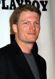Playboy Magazine Photo - Driver DALE EARNHARDT JR at the celebration of the 50th Anniversary of Playboy Magazine New York November 5 2003