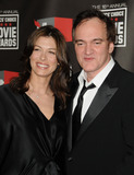 Julie Dreyfus Photo - Actress Julie Dreyfus (L) and filmmaker Quentin Tarantino arriving at the 16th annual Critics Choice Movie Awards at the Hollywood Palladium on January 14 2011 in Los Angeles California