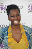 Adepero Oduye Photo - February 25 2012 LAAdepero Oduye arriving at the 2012 Film Independent Spirit Awards at Santa Monica Pier on February 25 2012 in Santa Monica California