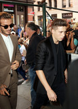 Brooklyn Beckham Photo - September 13 2015 New York CityDavid Beckham and his son Brooklyn Beckham visit a restauarnt in Soho following Victoria Beckhams Spring Summer presentation during NYFW on September 13 2015 in New York CityBy Line Zelig ShaulACE PicturesACE Pictures Inctel 646 769 0430