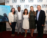 Carly Hugo Photo - August 1 2016 New York City(L-R) Producer Carly Hugo actors David Oyelowo and Rosie Perez writer director and producer Maris Curran and journalist and film critic Peter Travers at the Five Nights In Maine New York Film Critics Screening at the AMC Empire 25 theater on August 1 2016 in New York CityBy Line Serena XuACE PicturesACE Pictures IncTel 6467670430