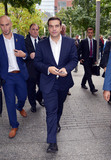 Alexis Tsipras Photo - October 1 2015 New York CityGreek Prime Minister Alexis Tsipras visits the 9-11 Memorial in Downtown Manhattan on October 1 2015 in New York CityBy Line Curtis MeansACE PicturesACE Pictures Inctel 646 769 0430