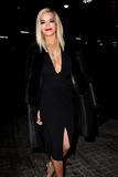 The Donnas Photo - February 10 2014 New York CityRita Ora arriving at the Donna Karan New York 30th Anniversary fashion show during Mercedes-Benz Fashion Week Fall 2014 on February 10 2014 in New York City