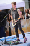 Hot Chelle Rae  Photo - July 20 2012 New York City Nash Overstreet of Hot Chelle Rae performs on NBCs Today at Rockefeller Plaza on July 20 2012 in New York City