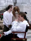 Heath Ledger Photo - VENICE ITALY OCTOBER 2004 Heath Ledger filming Untitled Casanova Project in Venice Italy