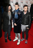 30 Seconds to Mars Photo - Jared Leto and 30 Seconds To Mars arriving at the ELLE Style Awards at Grand Connaught Rooms on February 22 2010 in London England