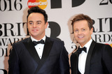 Ant  Dec Photo - February 24 2016 LondonAnt and Dec arriving at the BRIT Awards 2016 at The O2 Arena on February 24 2016 in London EnglandBy Line FamousACE PicturesACE Pictures Inctel 646 769 0430