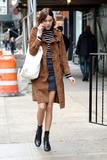 Alexa Chung Photo - April 1 2016 New York CityAlexa Chung seen walking in Manhattan in New York City on April 1 2016Credit Kristin CallahanACE PicturesTel 646 769 0430