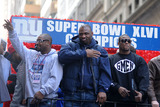Ahmad Bradshaw Photo - February 7 2012 New York City Ahmad Bradshaw and Brandon Jacobs attend the Giants Victory Parade for Super Bowl XLVI on February 7 2012 in New York City