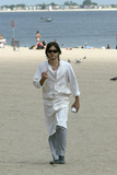 Jared Leto Photo - Actor Jared Leto returns to Coney Island Four years ago Leto starred in Requiem For a Dream a drama about a drug addict which unfolded on Coney Island     Today Jared Leto returns to film his latest movie Lord of War     Gentleman Leto did a heroic thing while on movie set Leto resqued a Russian girl from a stalker who followed her from home to the ocean front Later Leto approached the girl to find out if she was OK    Brooklyn New York August 7 2004