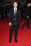 Logan Lerman Photo - Logan Lerman arrives for the premiere of  Fury the closing Gala  of the Bfi London Film Festival 2014 at the Odeon Leicester Square London 19102014 Picture by Steve Vas  Featureflash