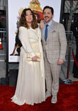 Ben Falcone Photo - Melissa McCarthy  husband Ben Falcone at the premiere for her movie The Boss at the Regency Village Theatre WestwoodMarch 28 2016  Los Angeles CAPicture Paul Smith  Featureflash