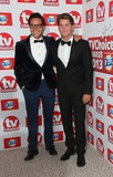 Andy Jordan Photo - Andy Jordan Stevie Johnson arriving at The TV Choice Awards 2013 held at the Dorchester London 09092013 Picture by Henry Harris  Featureflash