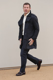 Dermot OLeary Photo - Dermot OLeary arriving at the Burberry Prorsum show during The London Collections Menswear AW 2016 at Kensington Gardens London January 11 2016  London UKPicture James Smith  Featureflash